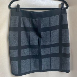 Ann Taylor Loft Pencil skirt Black and Grey large